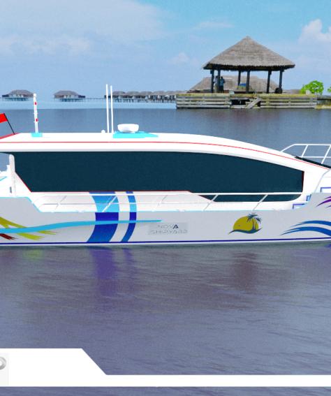 12m Passenger Boat – Nova FX120