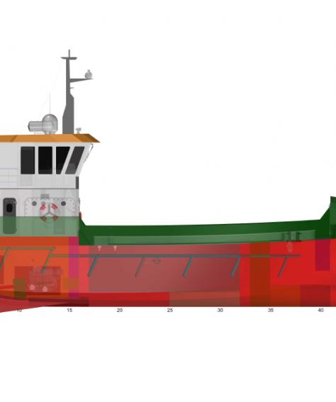 24m Fish Farm Support Vessel – Nova FSV240